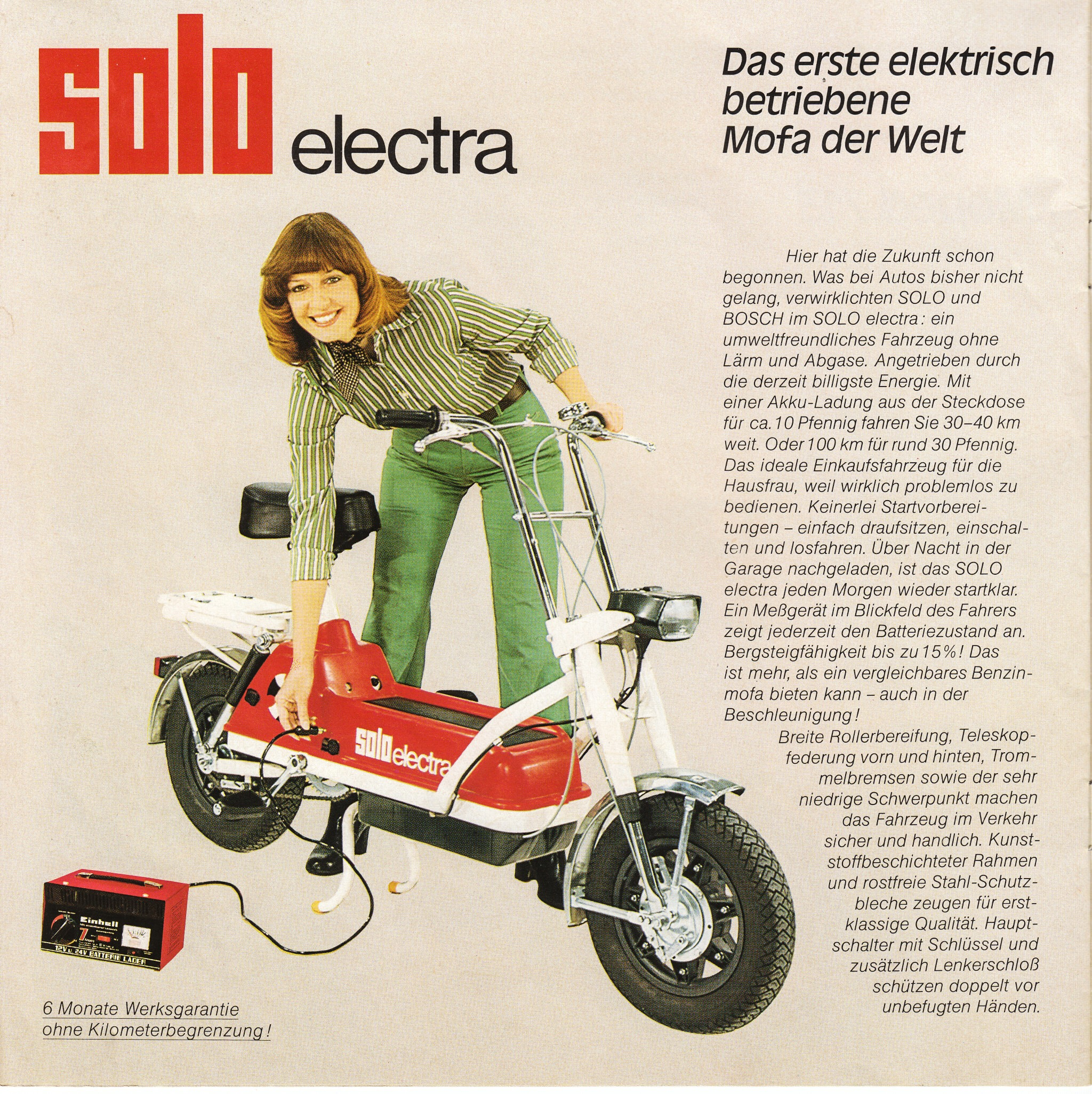 Solo Electra – wie jetzt?