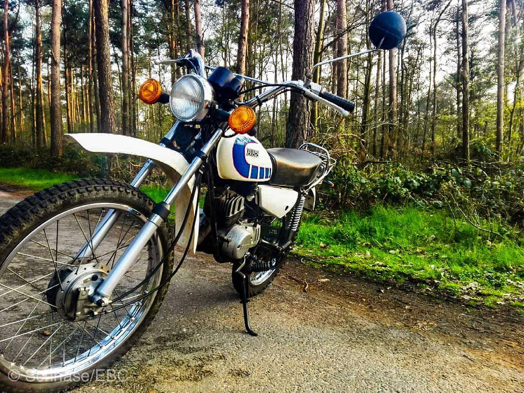 Schöne Yamaha DT50M von Stina