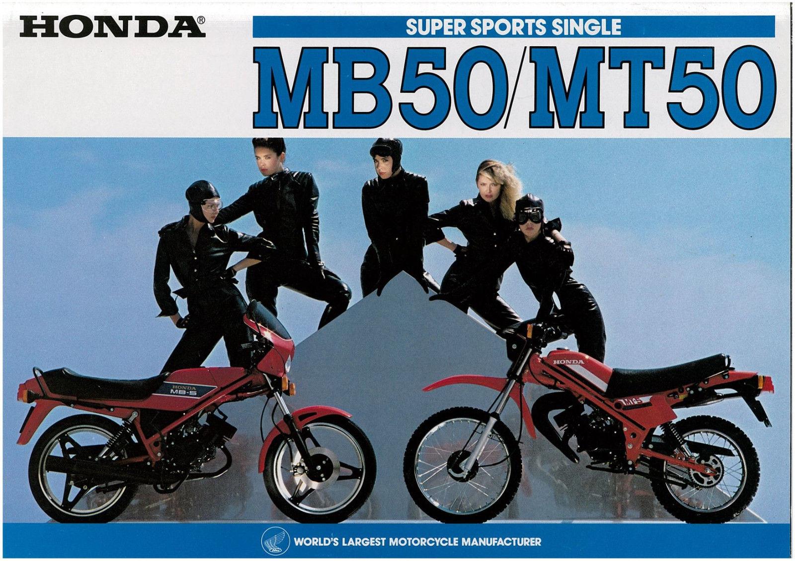 Brauche Infos für einen Artikel über die Honda MB5