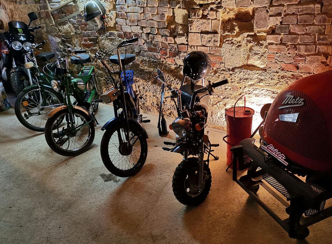 Moped Museum Burguffeln