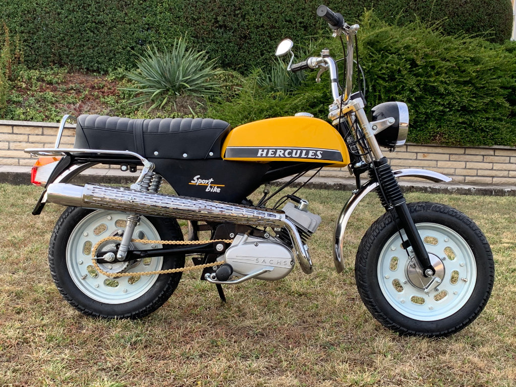 Christian hat ein Hercules Sportbike restauriert