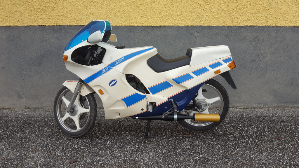Sehr selten: Cup Sachs Replica RS 50 und KTM RSV 50
