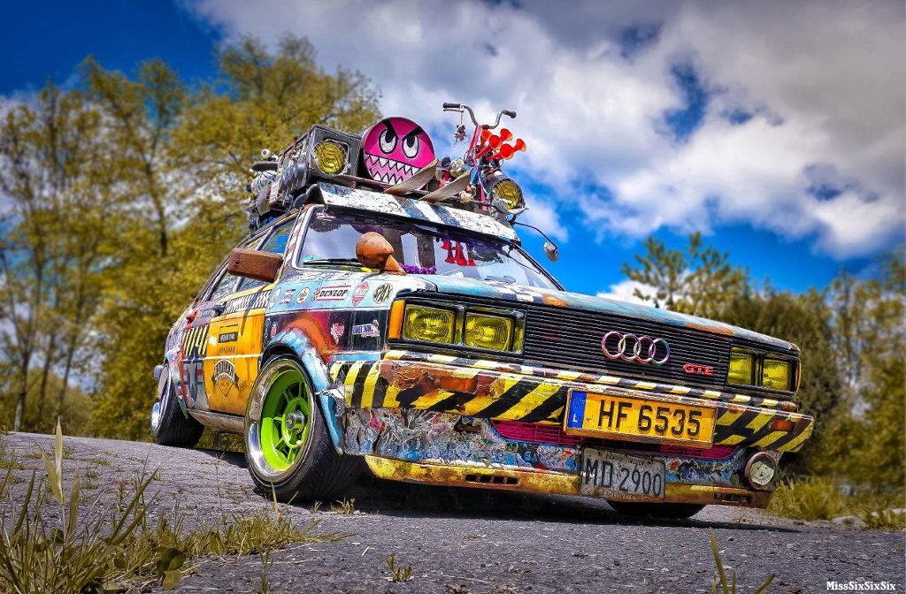 Ein Audi mit dem Namen Rudi