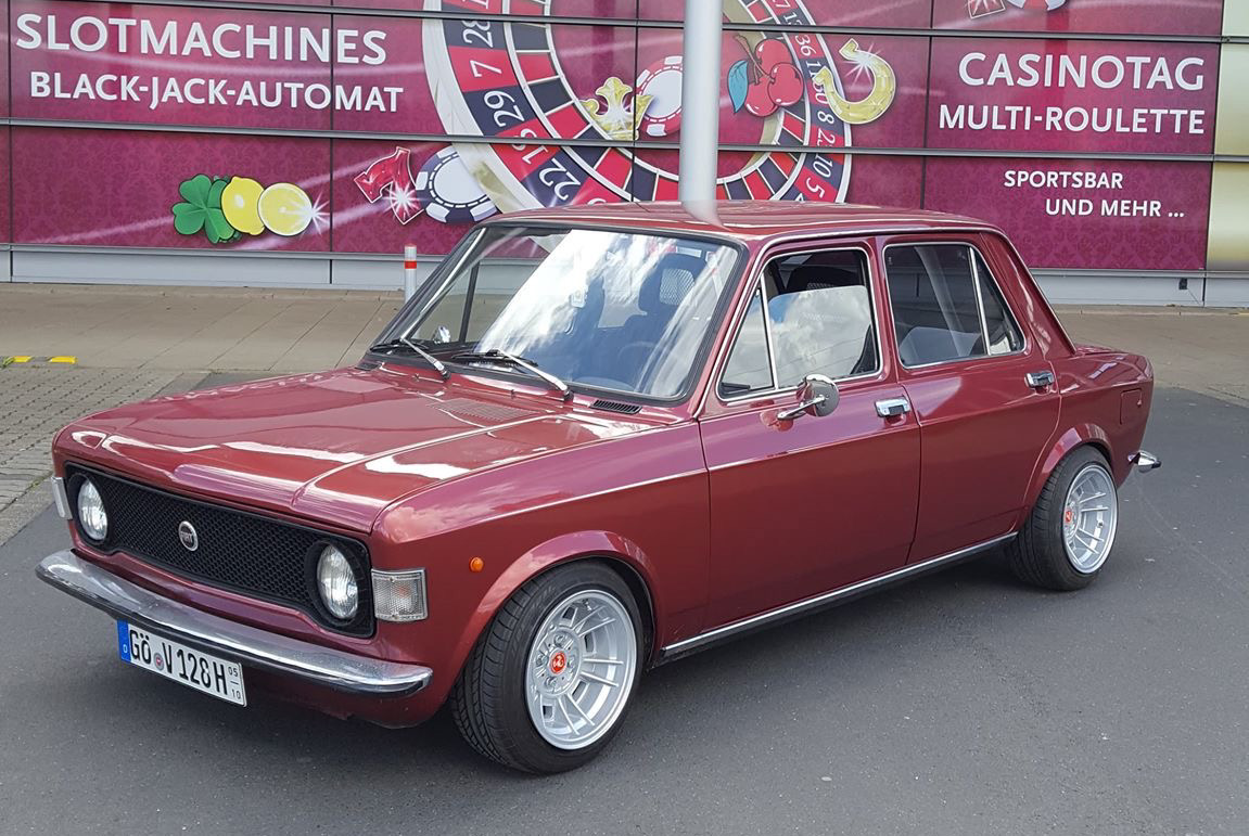 Wunderschöner Fiat 128 von Andreas