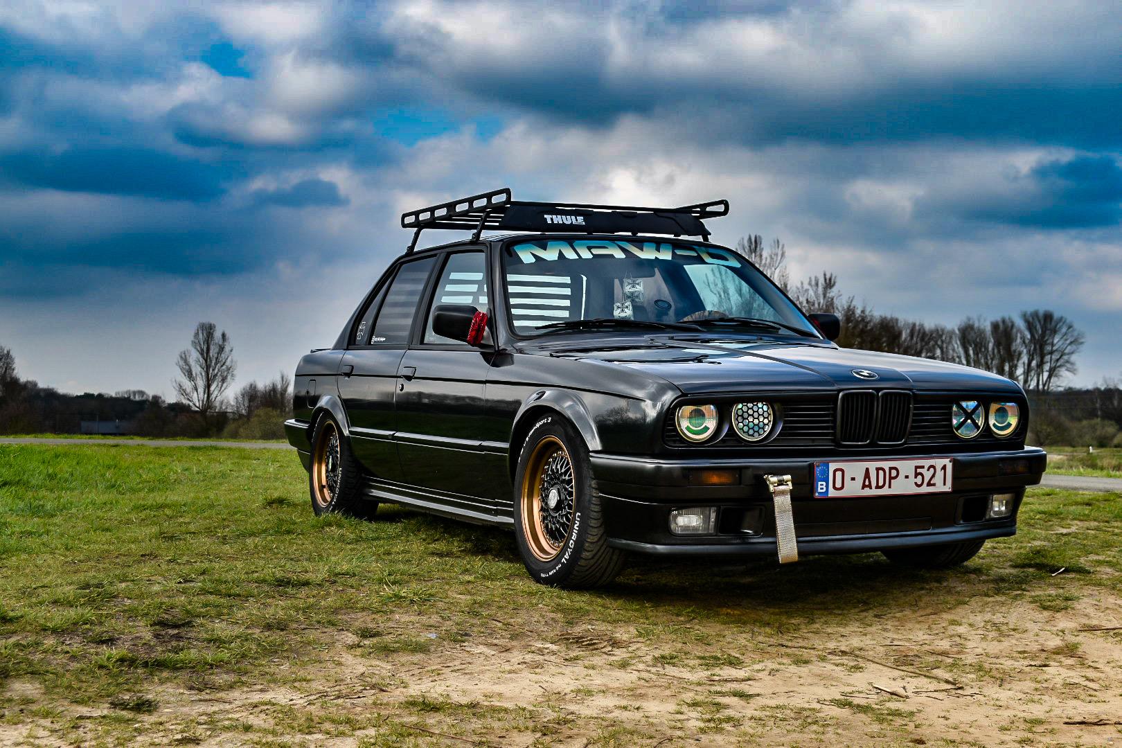 Ganz spezieller BMW E30 von Maudy aus Belgien
