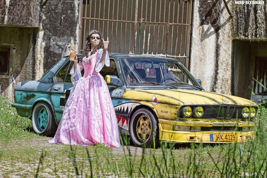 Ehemaliger 5er BMW von Joel mit dem Namen Franz
